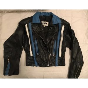 ISO: This vintage leather jacket by CHIA